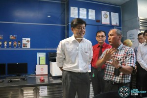 Tuas West Extension Opening Ceremony - Mr Ng Chee Meng at Gul Circle