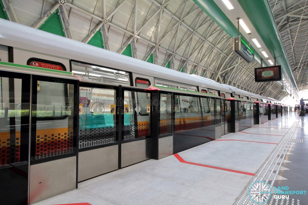 Tuas West Extension - Platform Screen Doors supplied by Fangda