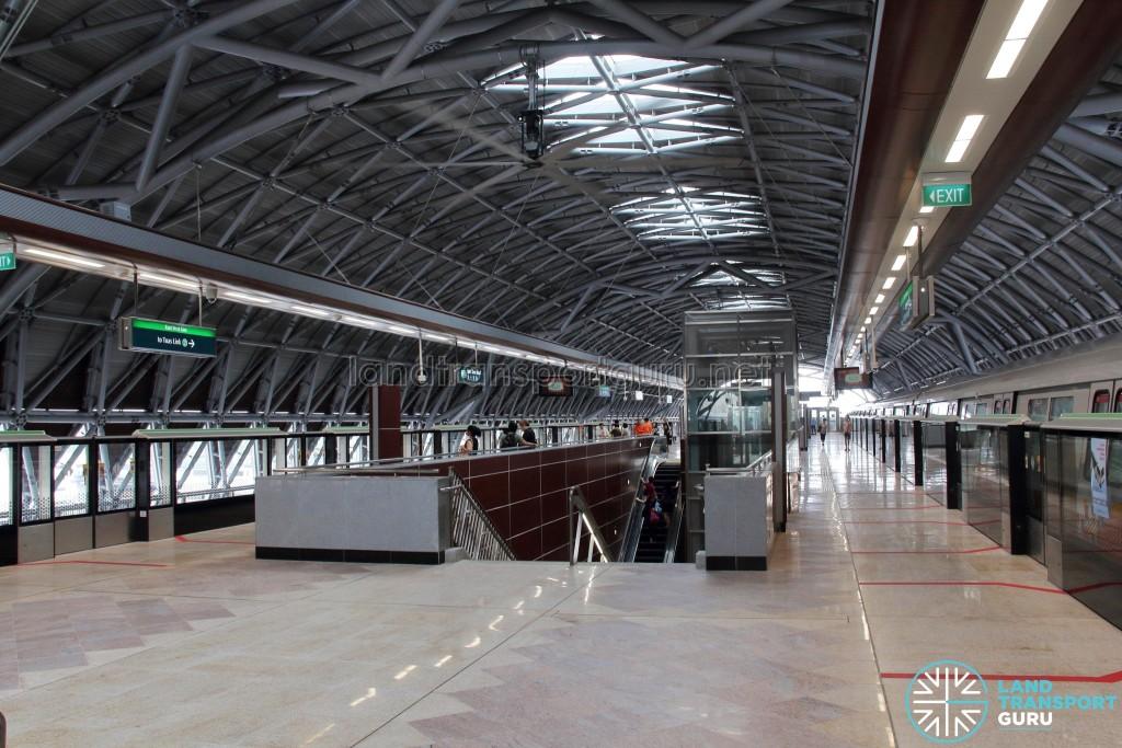 Tuas West Road MRT Station - Platform level