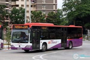 SBS Transit Mercedes-Benz Citaro (SG1098A) - Service 329