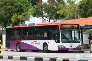 SBS Transit Mercedes-Benz Citaro (SG1152B) - Service 159