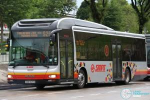 SMRT MAN A22 (SMB1529X) - Service 926