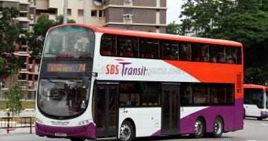 SBS Transit Volvo B9TL Wright (SG5562A) - Service 74