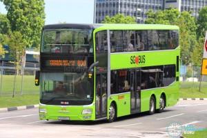 SMRT MAN A95 (SG5810J) - Service 806