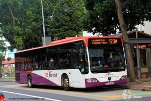 SBST Mercedes-Benz O530 Citaro (SBS6045H) - Service 123M