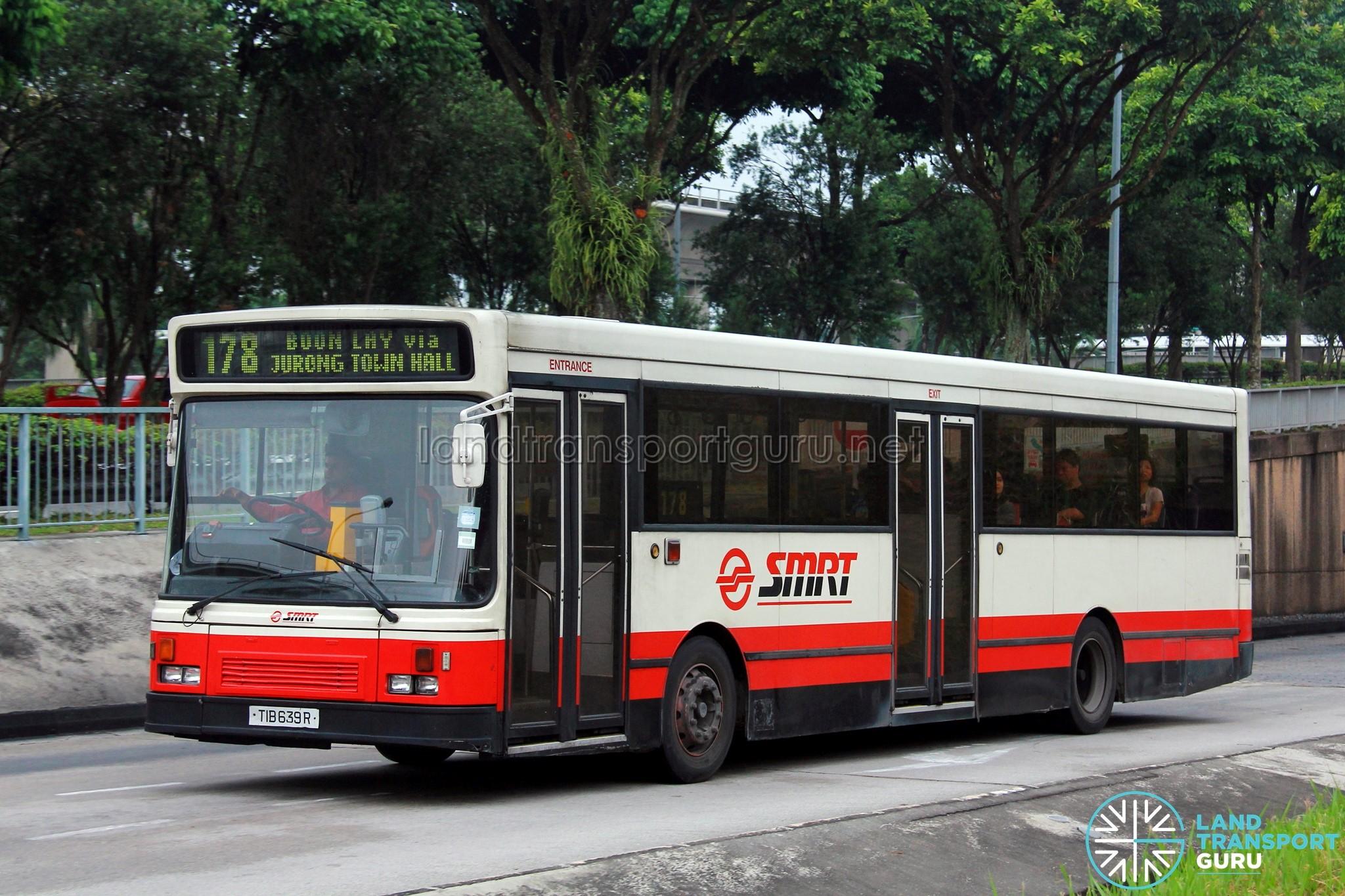 SMRT Scania L113CRL