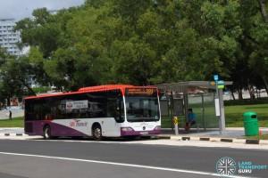SBS Transit Mercedes-Benz Citaro (SBS6586M) - Service 329 at Buangkok Crescent