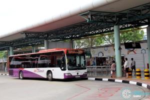 SBS Transit Mercedes-Benz Citaro (SBS6590A) - Service 329 at Hougang Central Interchange