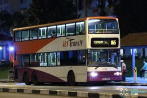 SBS Transit Dennis Trident (SBS9689E) - Service 165