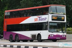 SBS Transit Volvo Super Olympian B10TL (SBS9830M) - Service 39