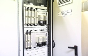Computer-based Interlocking: A signalling cabinet containing multiple modules, offering interlocking protection as part of the Thales CBTC signalling system (Photo: LTA)