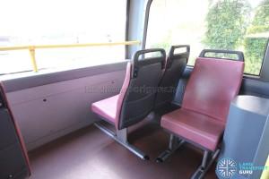 Dennis Trident - Upper Deck side-facing seat
