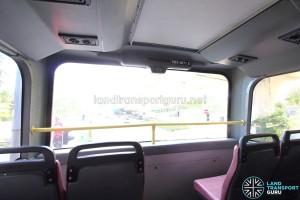 Dennis Trident - Upper Deck (Front windscreen)
