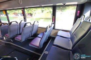 Mercedes-Benz O405G (Volgren) - Rear Cabin – Last row of seats