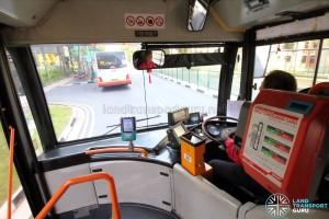 Mercedes-Benz O405G (Volgren) - Front Cabin - Entrance area / Driver's Cab