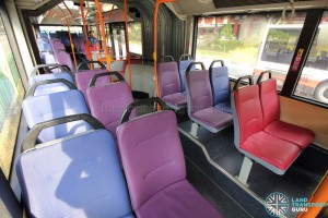 Mercedes-Benz O405G (Volgren) - Front Cabin – Seating