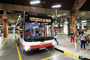 Bus Service 963R at RWS Basement