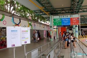 Service 329 Berth at Hougang Central Interchange