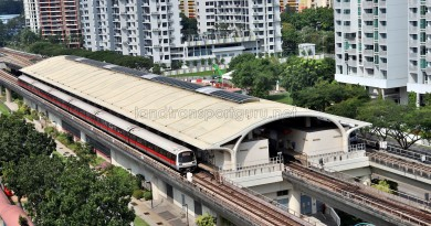 Tanah Merah MRT Station - Overhead