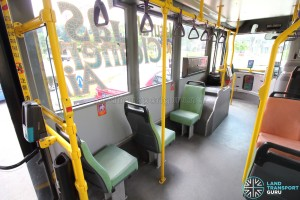 Volvo B10BLE CNG - Single seats