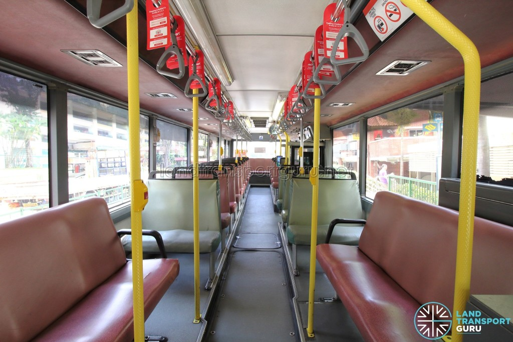 Volvo B10M MkIV - Interior (Front to Rear)