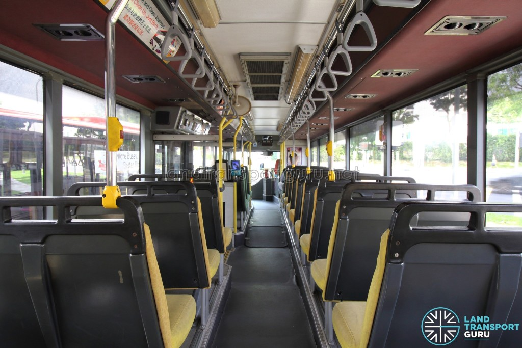 Volvo B10M MkIV - Interior (Rear to Front)
