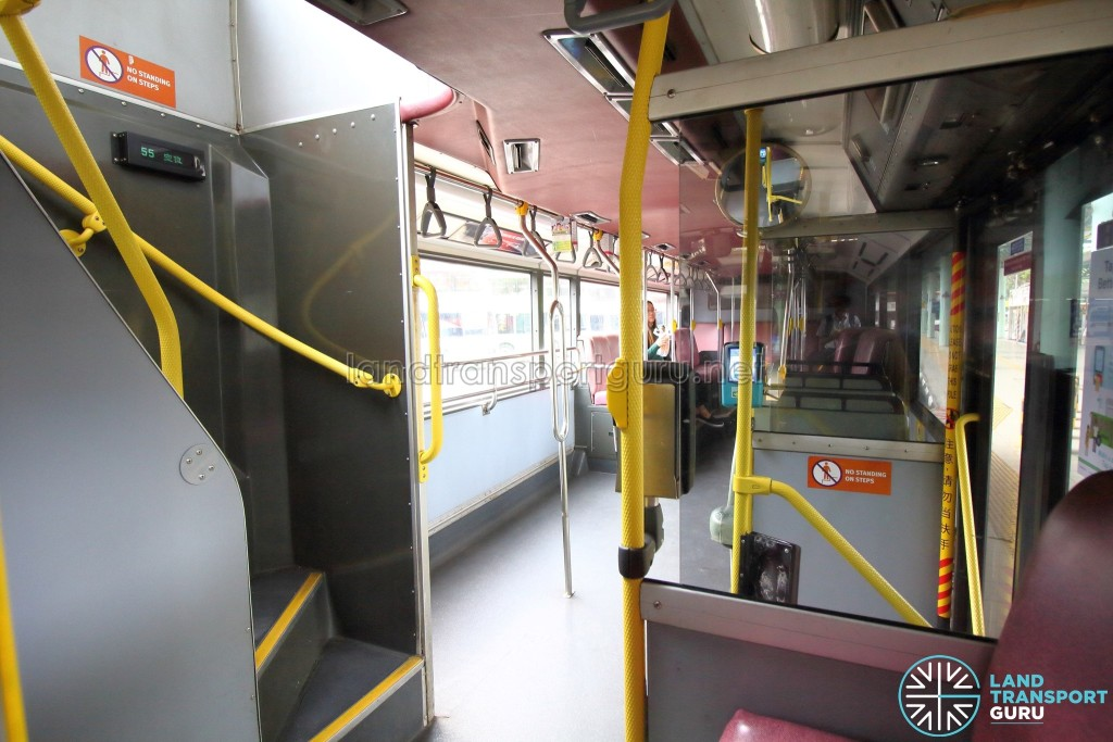 Volvo Olympian - Lower Deck (Front to Rear)