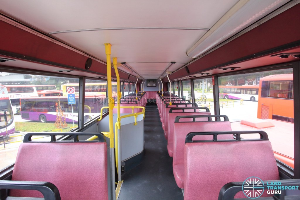 Volvo Olympian - Upper Deck (Front to Rear)