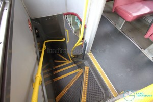 Volvo Olympian - Staircase