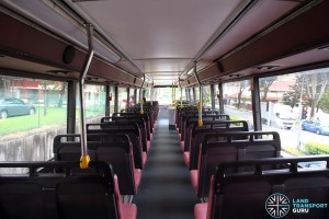 Volvo Olympian - Upper Deck (Rear to Front)