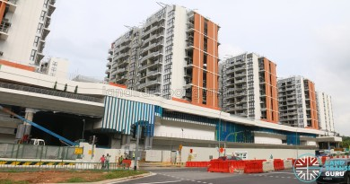 Construction of Yishun Bus Interchange as part of Northpoint City