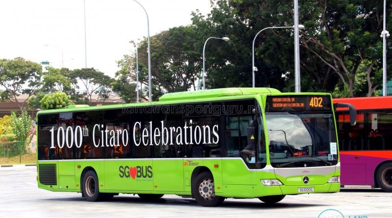 BS Transit Mercedes-Benz O530 Citaro (SG1000G) - Service 402