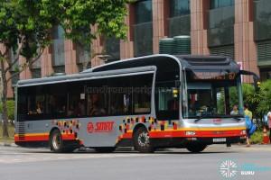 Bus 67 - SMRT Buses MAN A22 (SG1706D)