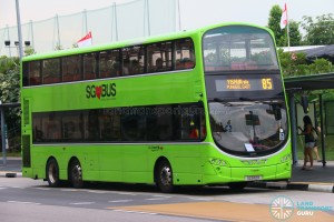 Service 85 - Go-Ahead Volvo B9TL Wright (SG5112R)