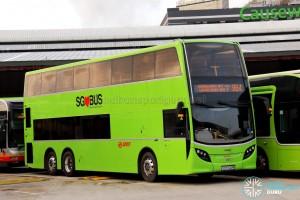 SMRT Alexander Dennis Enviro500 (SG5702M) - Service 964