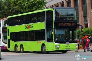 SMRT MAN A95 (SG5806Y) - Service 67