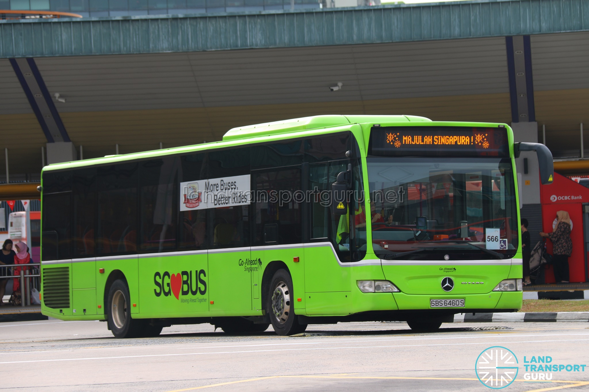 Go-Ahead Singapore - Majulah Singapura
