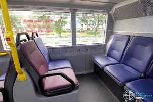 Alexander Dennis Enviro500 (Batch 2) - Lower Deck - Rear seating area