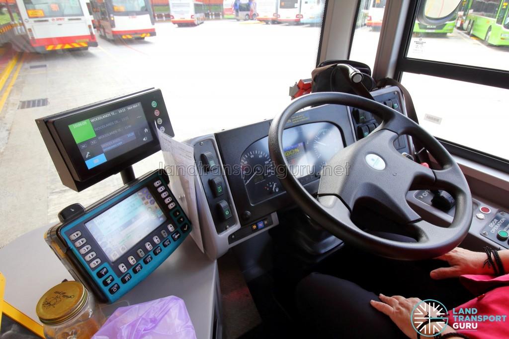 Alexander Dennis Enviro500 (Batch 2) - Driver's console