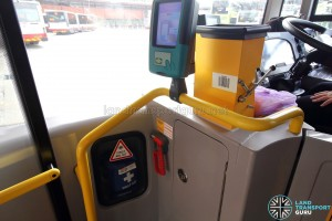 Alexander Dennis Enviro500 (Batch 2) - First aid kit with emergency hammer