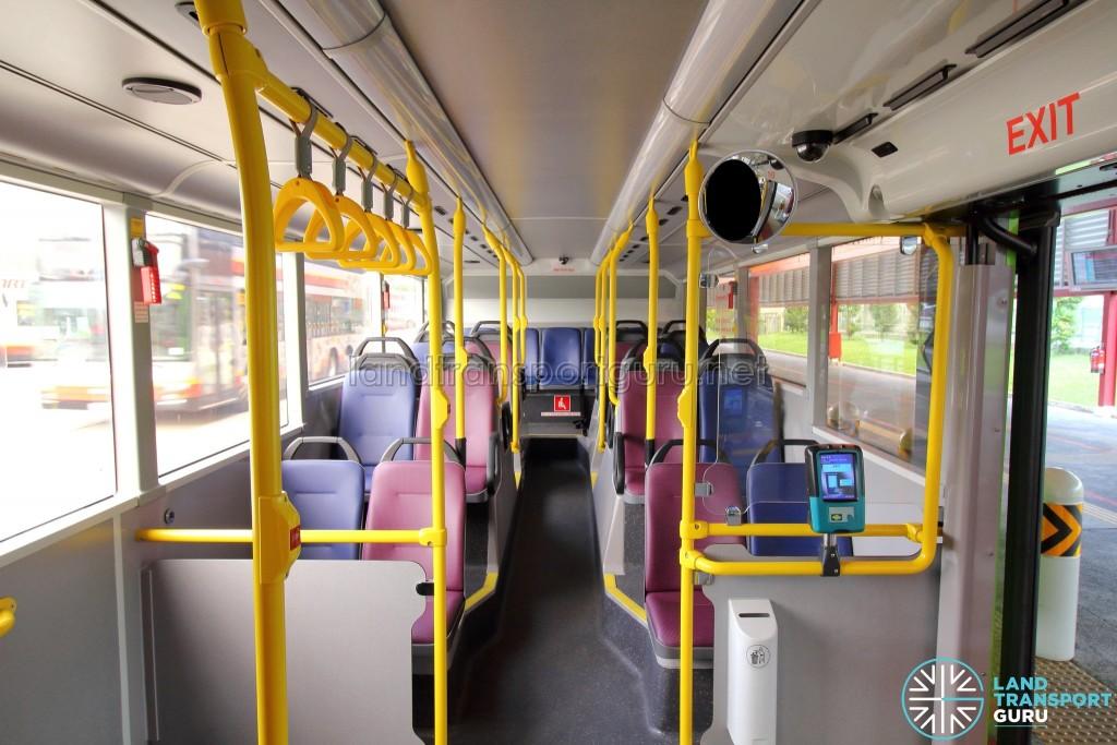 Alexander Dennis Enviro500 (Batch 2) - Lower Deck (Rear seating)