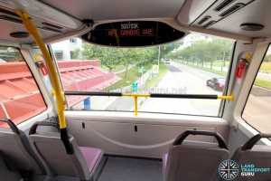 Alexander Dennis Enviro500 (Batch 2) - Upper Deck Front window