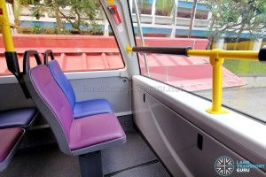 Alexander Dennis Enviro500 (Batch 2) - Upper Deck - Front row seats