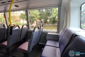 Alexander Dennis Enviro500 (Batch 2) - Upper Deck - Last row seats