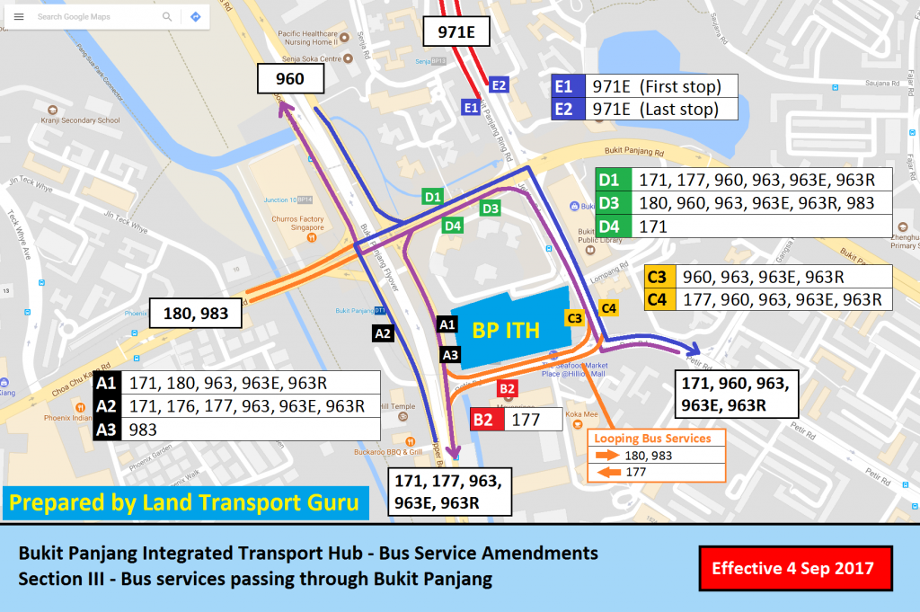 Bukit Panjang ITH Service Amendments - Section III
