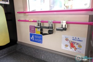 Stroller Restraint System at the standing area
