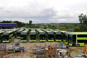 Gemilang Coachworks - Buses in storage (Aug 2017)