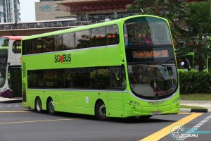 Tower Transit Volvo B9TL Wright (SG5022G) - Service 98