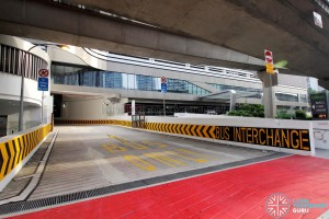 Bukit Panjang Bus Interchange - Ingress lane