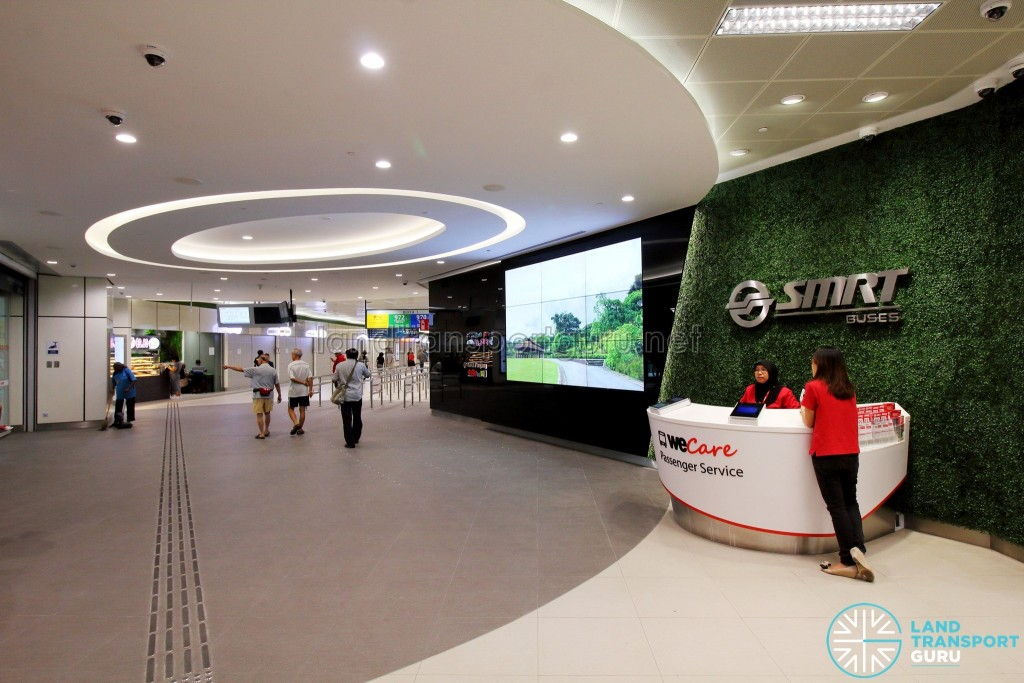 Bukit Panjang Bus Interchange - Interchange Foyer